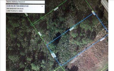 Lake Placid Residential Lots & Land For Sale: 646 Washington Blvd