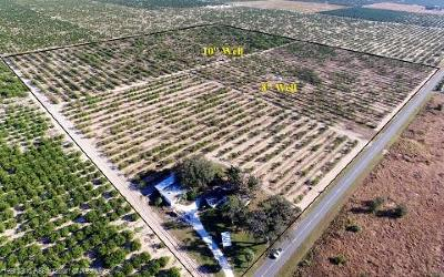 Sebring Residential Lots & Land For Sale: 8500 Twitty Road