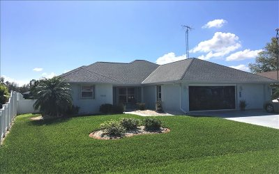 Lake Placid Single Family Home For Sale: 3052 Morning Glory Dr