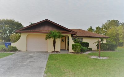 Single Family Home For Sale: 6700 Matanzas Dr
