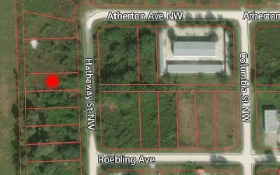 Lake Placid Commercial Lots & Land For Sale: 141 Hathaway St NW