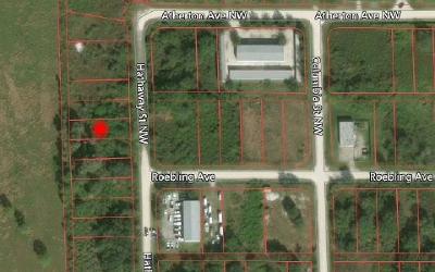 Lake Placid Commercial Lots & Land For Sale: 261 Hathaway St NW