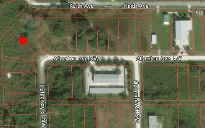 Lake Placid Commercial Lots & Land For Sale: 271 Atherton Ave NW