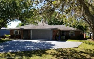 Sebring Single Family Home For Sale: 6748 Ashton Dr