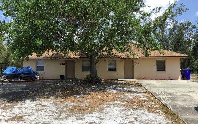Lake Placid Single Family Home For Sale: 741 Washington Blvd NW