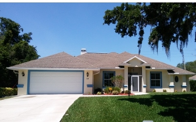 Lake Placid Single Family Home For Sale: 24 Mallard Dr