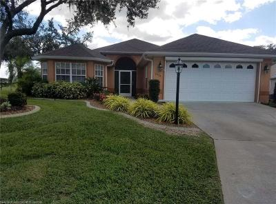 Avon Park FL Single Family Home For Sale: $224,500