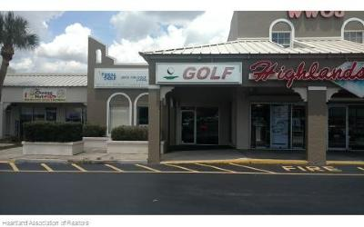 Highlands County Commercial For Sale: 3750 Us 27 North Unit 2-D
