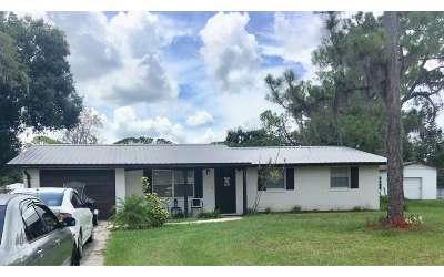 Sebring FL Single Family Home For Sale: $117,000