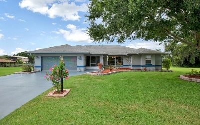 Lake Placid, Sebring, Lorida, Avon Park, Venus Single Family Home For Sale: 3105 Country Lake Dr