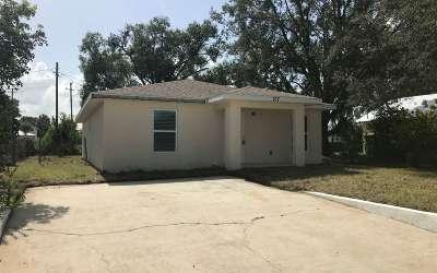 Avon Park Single Family Home For Sale: 107 N Lake Ave