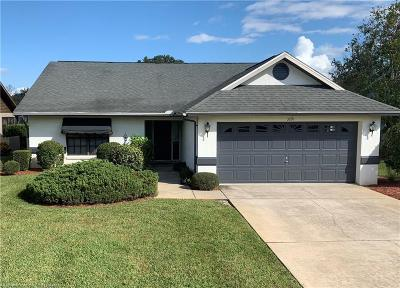 Avon Park, Lorida, Lake Placid, Sebring Single Family Home For Sale: 3891 Rodeo Drive