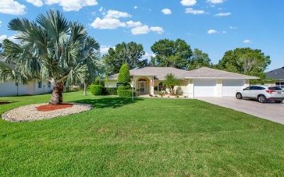 Sebring Single Family Home For Sale: 3711 Sunrise Dr