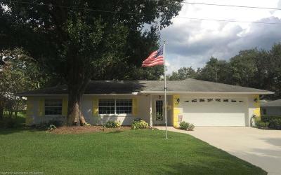 Single Family Home For Sale: 2609 Orange Grove Dr