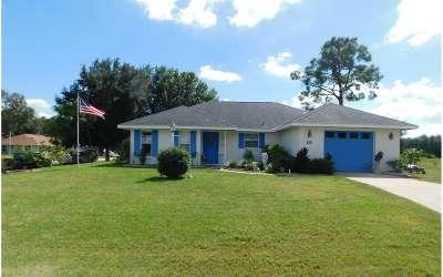 Lake Placid Single Family Home For Sale: 25 Corkwood Avenue