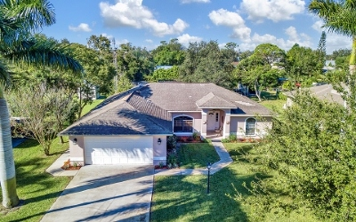 Lake Placid, Sebring, Lorida, Avon Park, Venus Single Family Home For Sale: 1718 Amber Lane