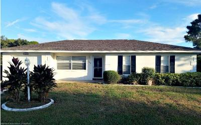 Lake Placid Single Family Home For Sale: 100 Citrus Road NE