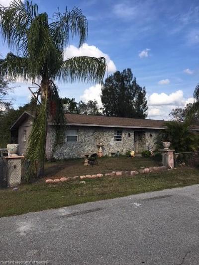 Sebring FL Single Family Home For Sale: $79,000