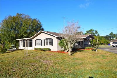Lake Placid Single Family Home For Sale: 542 S Sun N Lakes Boulevard