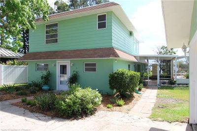 Sebring Single Family Home For Sale: 1903 Manatee Drive