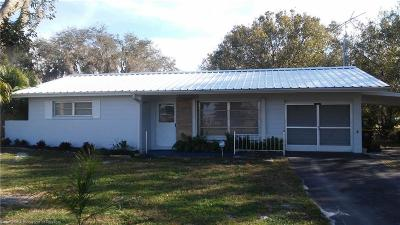 Lake Placid, Avon Park, Lorida, Sebring Single Family Home For Sale: 6232 Oak Lane
