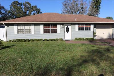 Highlands County Single Family Home Contingent: 4000 Ramiro Street