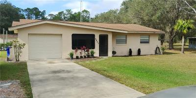 Avon Park, Lorida, Lake Placid, Sebring Single Family Home For Sale: 4807 Lakewood Road