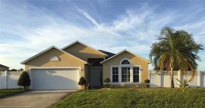 Sebring Single Family Home For Sale: 4500 Tarrega Street