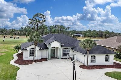 Sebring Single Family Home For Sale: 5028 Myrtle Beach Drive