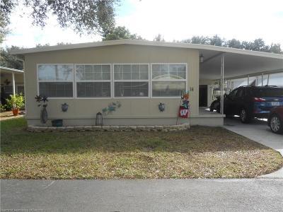 Avon Park, Lake Placid, Lorida, Sebring Mobile/Manufactured For Sale: 14 Skyline Drive