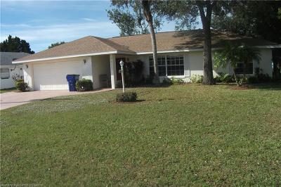 Sebring Single Family Home For Sale: 4435 Mandarin Road