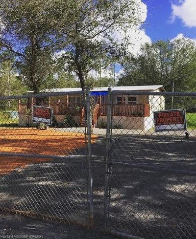 Avon Park Single Family Home For Sale: 212 Ballard Road