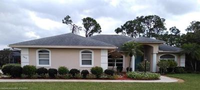 Sebring Single Family Home For Sale: 3518 Monza Drive