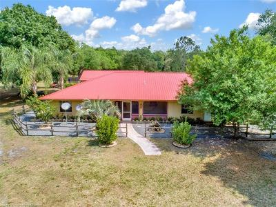 Highlands County Single Family Home For Sale: 133 Myrtle Bush Lane