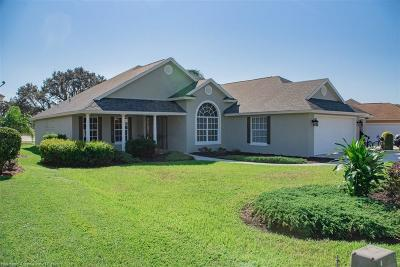 Sebring Single Family Home For Sale: 2730 Treasure Cay Lane