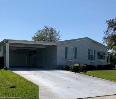 Avon Park, Lake Placid, Lorida, Sebring Mobile/Manufactured For Sale: 1732 Primrose Lane
