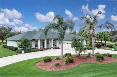 Lake Placid, Sebring, Lorida, Avon Park, Venus Single Family Home For Sale: 14 Meadowlake Circle N