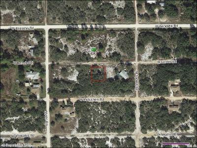 Avon Park Residential Lots & Land For Sale: 2817 W Laredo Road