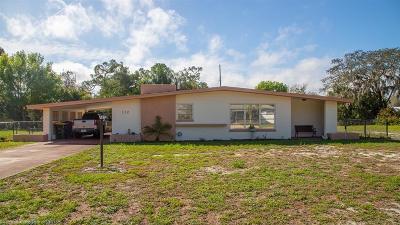 Sebring Single Family Home For Sale: 132 Sparrow Avenue