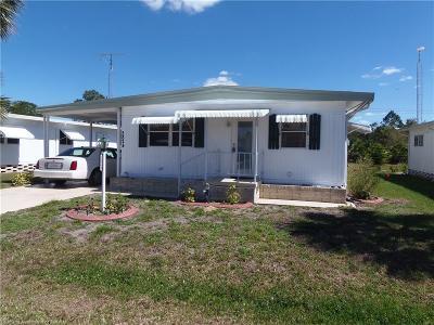 Sebring Single Family Home For Sale: 2824 Roger Street