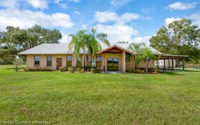 Highlands County Single Family Home For Sale: 835 Cr 731 Road