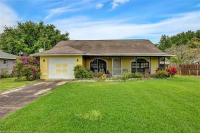 Lake Placid Single Family Home For Sale: 1525 Walnut Avenue
