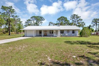 Sebring Single Family Home For Sale: 6506 Foster Road