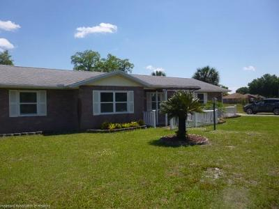 Sebring Single Family Home For Sale: 5036 Whiting Drive