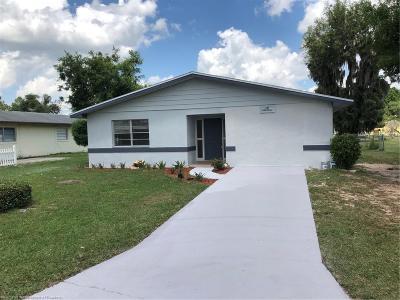 Sebring Single Family Home For Sale: 233 Thrush Avenue