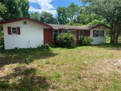 Highlands County Single Family Home For Sale: 1865 Us Highway 98