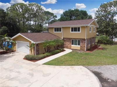 Avon Park, Lorida, Lake Placid, Sebring Single Family Home For Sale: 3711 Scenic Highway
