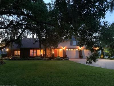 Sebring Single Family Home For Sale: 3650 Lakeview Drive