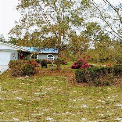Lake Placid, Avon Park, Sebring, Lorida Single Family Home For Sale