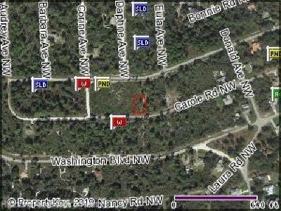Lake Placid Residential Lots & Land For Sale: 375 Carole Road NW